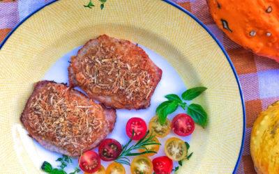 Schab pod serową kołderką